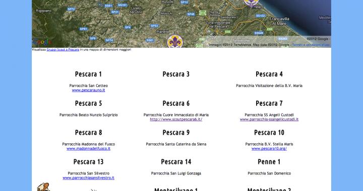 Gruppi scout a Pescara