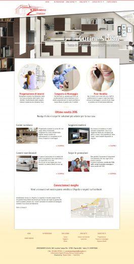 Realizzazione sito web Arredamenti Giulia - Francesco Rulli - Pescara