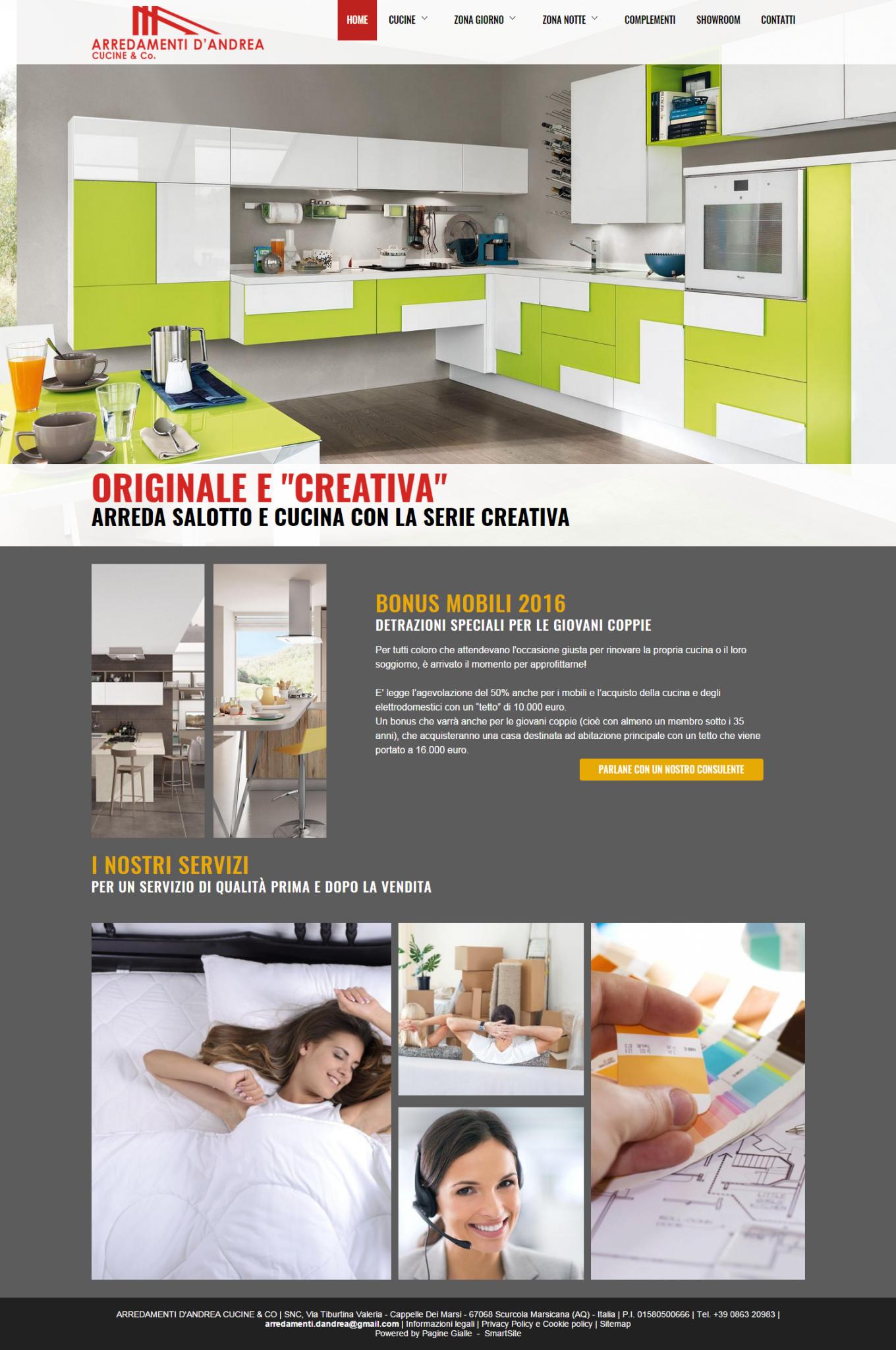Arredamento mobili e cucine