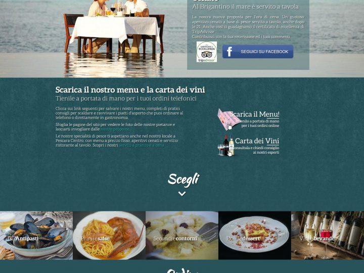 Ristorante di pesce self service Pescara Brigantino Gastronomia